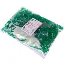 1000x LED светодиод 3мм 1.8-2В 20мА, зеленый