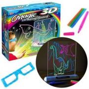 Доска-планшет для рисования 3D Magic Drawing Board