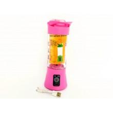 Портативный Блендер USB Ollipin Розовый 380 мл