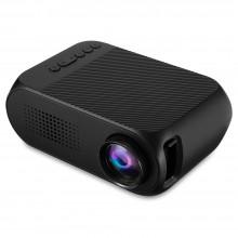 Портативный мини проектор Projector LED YG320 Mini с динамиком Черный