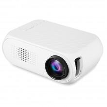 Портативный мини проектор Projector LED YG320 Mini с динамиком Белый